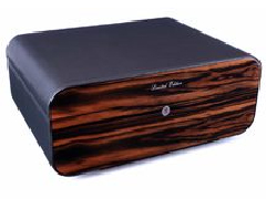 Хьюмидор Gentili Black на 75 сигар Limited Edition SV75-LE-Black