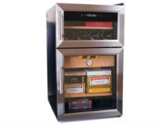 Электронный хьюмидор-холодильник Howard Miller на 400-600 сигар и 8 бутылок вина 810-069