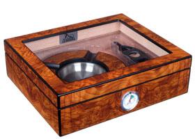 Хьюмидор Lubinski c подарочным набором на 25 сигар QB309