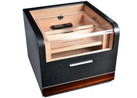 Хьюмидор-шкаф Gentili на 120 сигар CPL-120 Карбон