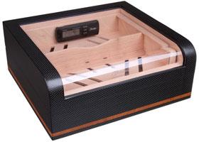 Хьюмидор-шкаф Gentili на 40 сигар CPL-40 Карбон