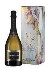 Игристое вино Balaklava Muscat gift box, 0,75 л.
