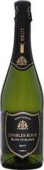 Игристое вино Charles Roux Blanc de Blancs Brut , 0,75 л.