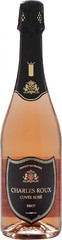 Игристое вино Charles Roux Cuvee Rose Brut, 0,75 л.