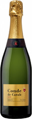 Игристое вино Conde de Caralt Cava Brut, 0,75 л.