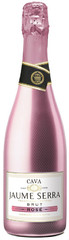 Игристое вино Jaume Serra Brut Rose, Cava DO , 0,75 л.