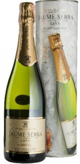 Игристое вино Jaume Serra Cava Brut DO gift box , 0,75 л.