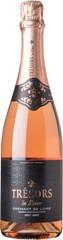 Игристое вино Joseph Verdier, Tresors de Loire Brut Rose, Cremant de Loire AOC , 0,75 л.