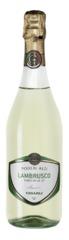 Игристое вино Lambrusco dell'Emilia Bianco Poderi Alti, 0,75 л.