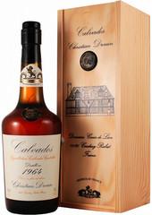 Кальвадос Coeur de Lion Calvados Pays d'Auge, 1964, wooden box, 0.7 л