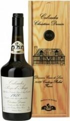 Кальвадос Coeur de Lion Calvados Pays d'Auge 1970, wooden box, 0.7 л