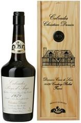 Кальвадос Coeur de Lion, Calvados Pays d'Auge, 1979, wooden box, 0.7 л