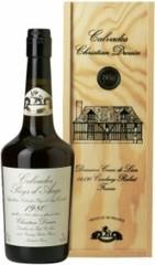 Кальвадос Coeur de Lion Calvados Pays d'Auge 1980, wooden box, 0.7 л