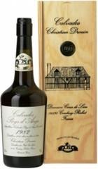 Кальвадос Coeur de Lion Calvados Pays d'Auge 1982, wooden box, 0.7 л