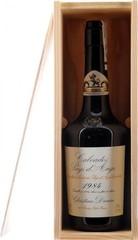 Кальвадос Coeur de Lion Calvados Pays d'Auge, 1984, wooden box, 0.7 л