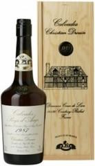 Кальвадос Coeur de Lion Calvados Pays d'Auge 1987, wooden box, 0.7 л