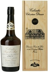 Кальвадос Coeur de Lion Calvados Pays d'Auge, 1988, wooden box, 0.7 л