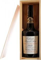 Кальвадос Coeur de Lion, Calvados Pays d'Auge, 1989, wooden box, 0.7 л