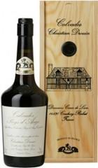Кальвадос Coeur de Lion Calvados Pays d'Auge, 1991, wooden box, 0.7 л