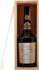 Кальвадос Coeur de Lion Calvados Pays d'Auge 1992, wooden box, 0.7 л