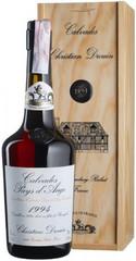 Кальвадос Coeur de Lion Calvados Pays d'Auge, 1994, wooden box, 0.7 л