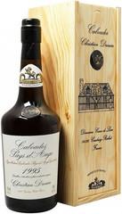 Кальвадос Coeur de Lion Calvados Pays d'Auge, 1995, wooden box, 0.7 л