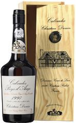 Кальвадос Coeur de Lion Calvados Pays d'Auge, 1997, wooden box, 0.7 л
