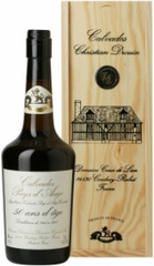 Кальвадос Coeur de Lion Calvados Pays d'Auge 50 Years, wooden box, 0.7 л