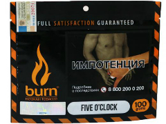 Кальянный табак Burn Five O'clock 100 gr