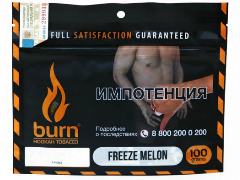Кальянный табак Burn Freeze Melon 100 gr