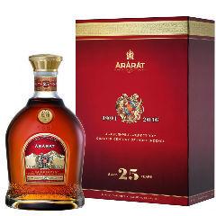 Коньяк Арарат 25-летний gift box, 0,75 л.