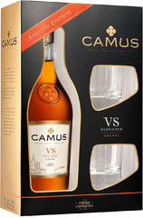 Коньяк Camus VS, gift box with 2 glasses