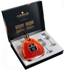Коньяк Camus X.O. Elegance, gift box with 2 glasses