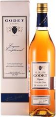 Коньяк Godet Cuvee Jean Godet VS de Luxe, gift box, 0.7 л