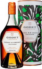 Коньяк Godet Gastronome Organic XO, gift box, 0.7 л