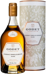 Коньяк Godet Single-Grape Rare Folle Blanche, gift box, 0.7 л