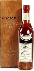 Коньяк Godet Vintage Grande Champagne AOC, 1980, wooden box, 0.7 л