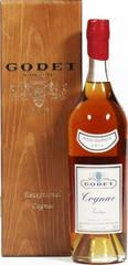 Коньяк Godet Vintage Petite Champagne AOC 1972, wooden box, 0.7 л