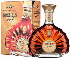 Коньяк Kremlin Award 7 Years Old gift box, 0,7 л.