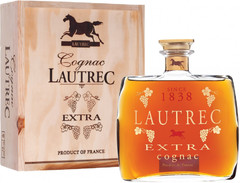 Коньяк Lautrec Extra, 0.7 л