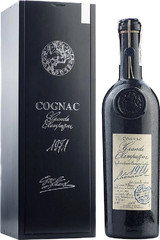Коньяк Lheraud Cognac 1971 Grande Champagne wooden box, 0.7 л.