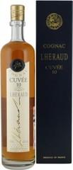 Коньяк Lheraud Cognac Cuvee 10, 0.7 л