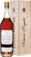 Коньяк Louis Royer, Grande Champagne Reserve Royale, wooden box, 0.7 л