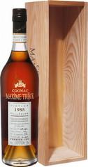 Коньяк Maxime Trijol Grande Champagne Premier Cru AOC, 1985, wooden box, 0.7 л