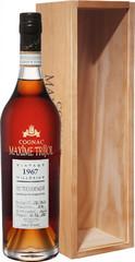 Коньяк Maxime Trijol Petite Champagne AOC, 1967, wooden box, 0.7 л