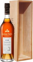 Коньяк Maxime Trijol Petite Champagne AOC, 1968, wooden box, 0.7 л