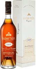 Коньяк Maxime Trijol VSOP, Grand Champagne Premier Cru, Cognac AOC, gift box, 0.7 л