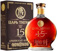 Коньяк Царь Тигран 15-летний, 0.7 л