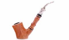 Курительная трубка Mastro de Paja 3B Stand-up со вставкой M282