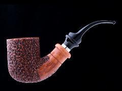 Курительная трубка Ser Jacopo R1 B Rustic S422